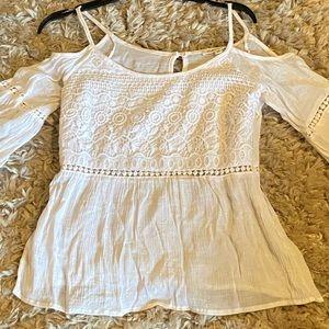 Bohemian white blouse